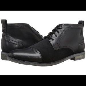 NIB Stacy Adams Beckett Black Men's Boots